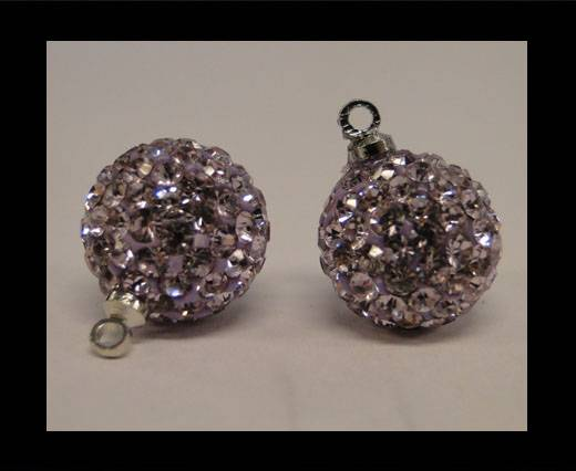 Buy Shamballa-Crystal-Hanger-12mm-Violet at wholesale prices