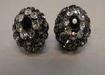 Shamballa-Flower-10mm-Black Diamond