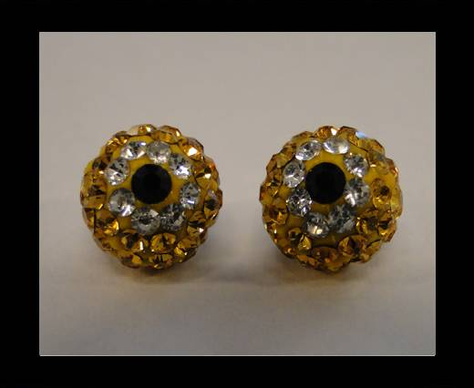 Shamballa-Flower-10mm-Citrine