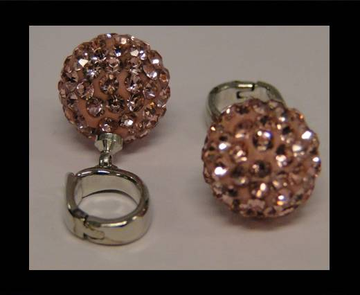 Shamballa-HC-10mm-Light Rose