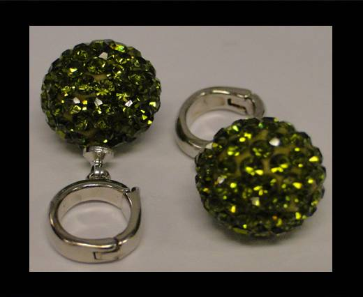 Buy Shamballa-HC-10mm- Olivine at wholesale prices
