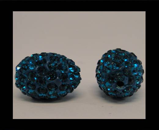 Buy Shamballa-Oval-Blue Zircan at wholesale prices