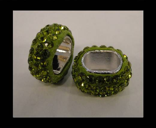 Shamballa-Oval-Hollow-Olivine