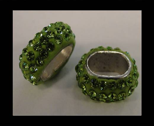 Shamballa-Oval-Hollow-Peridot