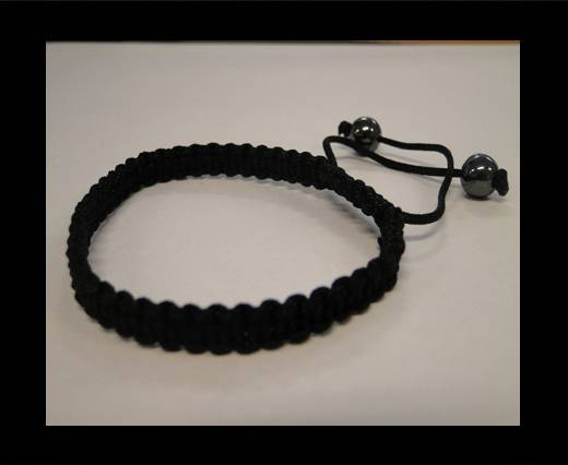 Shamballa Simple Bracelet SB-Black