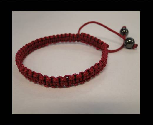 Shamballa Simple Bracelet SB-Purple