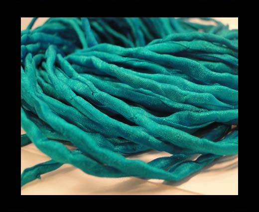 Buy Silk Cords - 2mm - Round -45 Turquoise at wholesale prices
