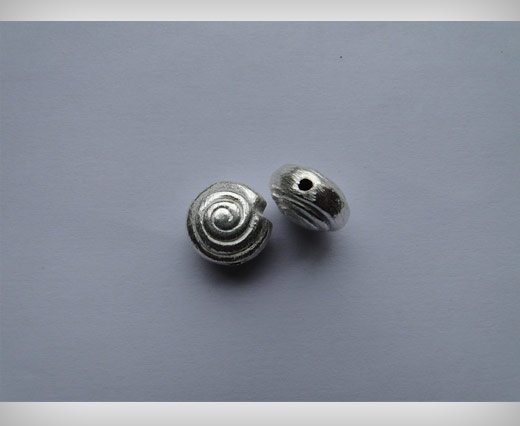Buy Silver Brush Beads SE-2186 at wholesale prices