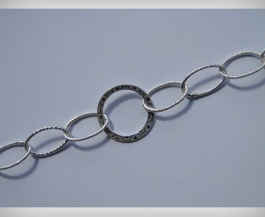 Buy Silver Styled Chain at wholesale prices