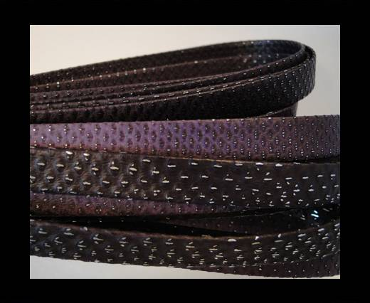 Snake Leather Cords-Flat-N16-10MM