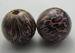 Snake Wooden Beads NSSB-10