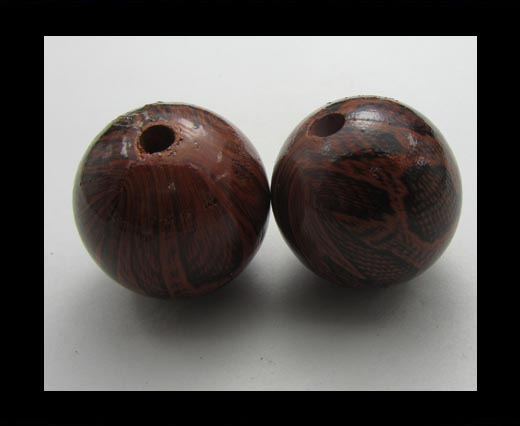 Buy Snake Wooden Beads NSSB-09 at wholesale prices