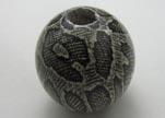 Snake Wooden Beads NSSB-03-40mm