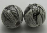 Snake Wooden Beads NSSB-03-16mm