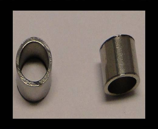 Stainless steel part for round leather SSP-123