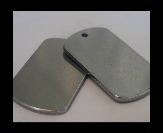 Stainless steel logo plate SSP-149 - 32 -BY-19mm
