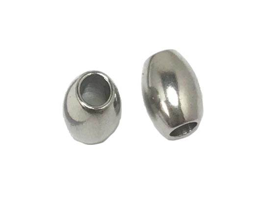 Stainless steel part for round leather SSP-173-4mm
