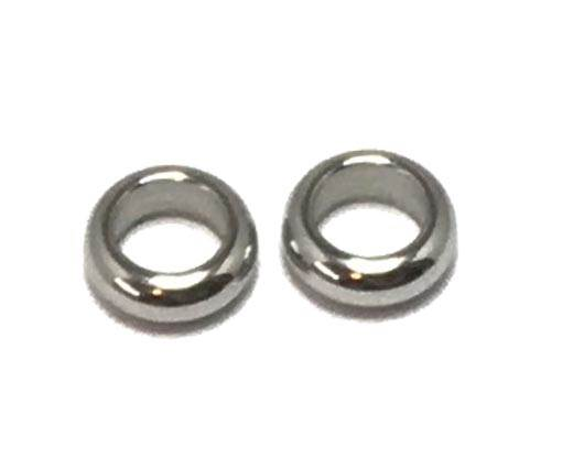 Stainless steel part for round leather SSP-179-5mm