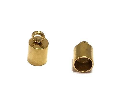 Stainless steel end cap SSP-195-4mm-Gold