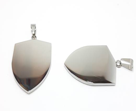 Stainless steel pendant SSP-201-42-BY-42mm