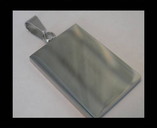 Stainless steel pendant SSP-202-22.5-BY-33mm