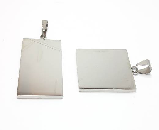 Stainless steel pendant SSP-204-28-BY-38mm