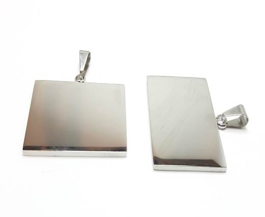 Stainless steel pendant SSP-205-38-BY-28mm