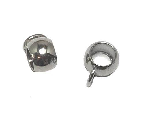 Stainless steel part for round leather SSP-207-5mm