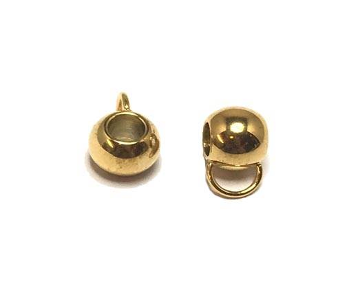 Stainless steel part for leather SSP-207-5MM-GOLD