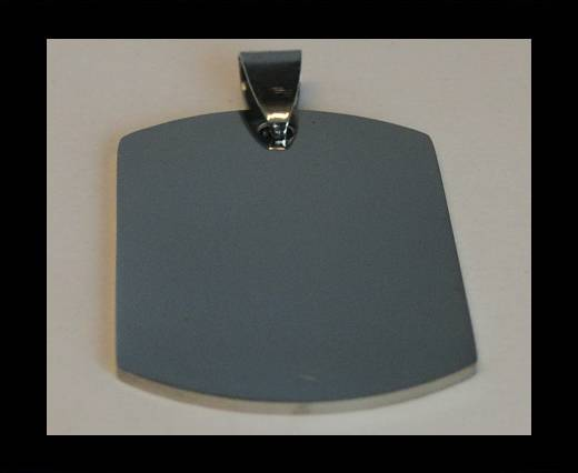 Stainless steel pendant SSP-212-27*40mm-Silver
