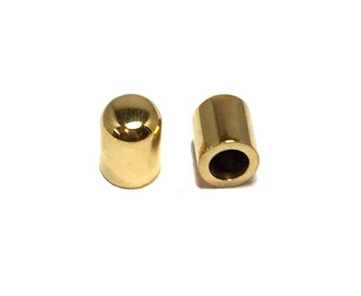 Stainless steel end cap SSP-221-5mm-Gold