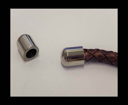 Stainless steel end cap SSP-221-5mm-Steel