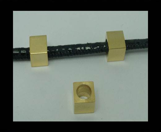 Stainless steel part for leather SSP-306-6MM-/GOLD
