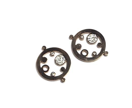 Stainless steel charm SSP-343-25mm