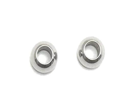 Stainless steel part for round leather SSP-36-4mm-Steel
