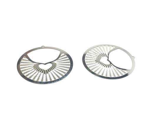 Stainless steel earing SSP-376-40mm-Steel