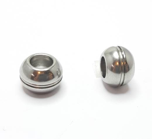Stainless steel part for leather SSP-389-6mm-steel