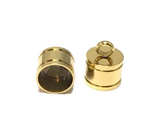 Stainless steel end cap SSP-392-10mm-Gold