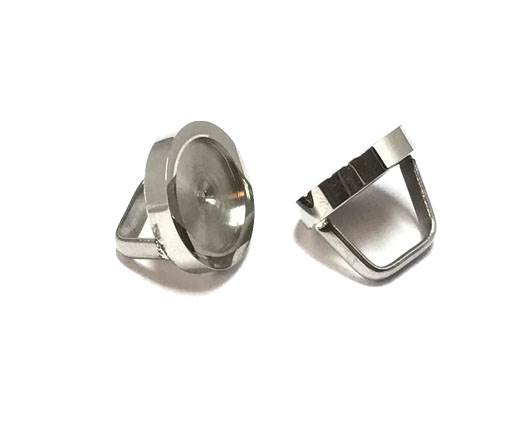 Stainless steel part for leather SSP-420-12.5*8mm-Steel