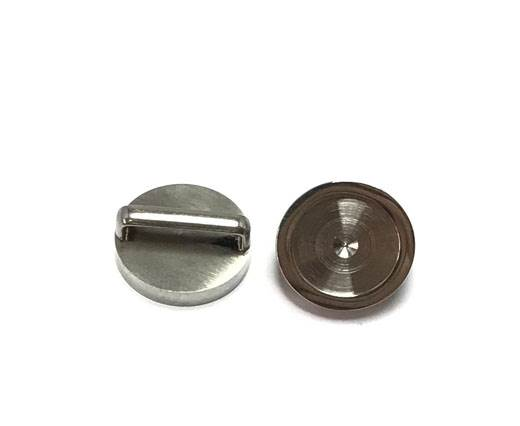 Stainless steel part for leather SSP-421-13*3.5MM