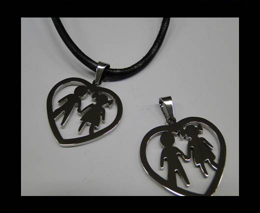 Buy Stainless steel pendant SSP-491 B at wholesale prices