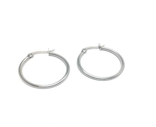 Stainless steel earing SSP-516-18mm-Steel