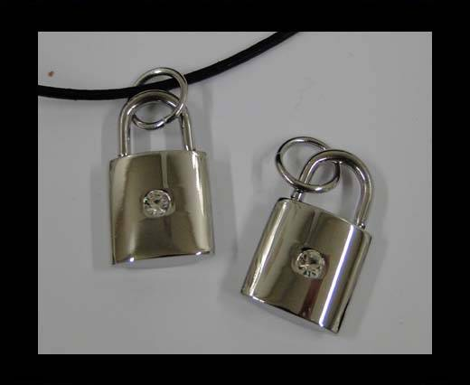 Stainless steel pendant SSP-521-25*15MM