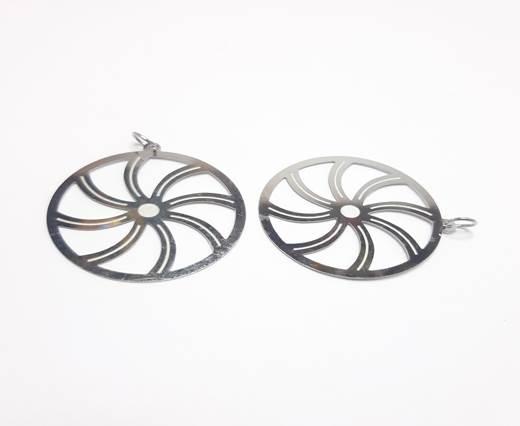 Stainless steel earing SSP-539-35MM-STEEL