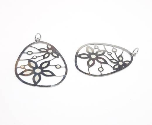Stainless steel earing SSP-541-31*42MM-STEEL
