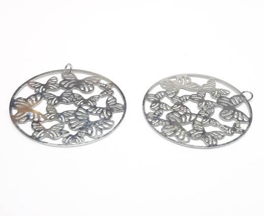 Stainless steel earing SSP-543-39MM-STEEL