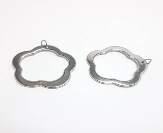 Stainless steel earing SSP-554-35MM-STEEL