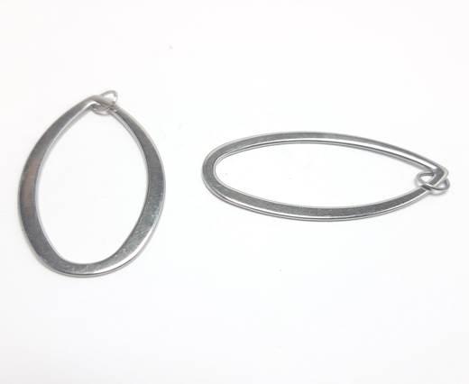 Stainless steel earing SSP-558-23*42MM-Steel