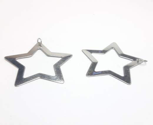Stainless steel earing SSP-559-40MM-Steel