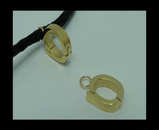 Stainless steel part for leather SSP-55-6MM-GOLD